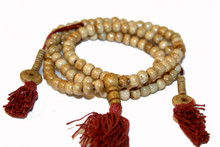 Tibet Bone Mallas Prayer Beads. At Tibet Spirit Store