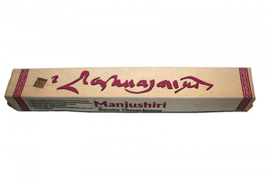 Tibet Manjushri Incense. Perfect for Meditation or purification. At Tibet Spirit Store
