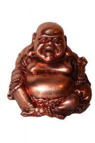 Laughing Buddha statuette.