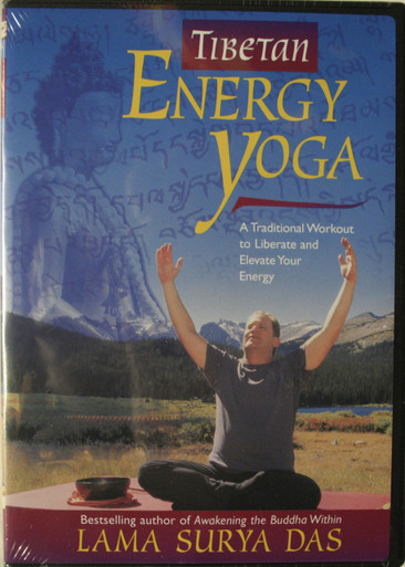 Tibetan Energy Yoga A Traditional Workout to Liberate and Elevate Your Energy 1 DVD
