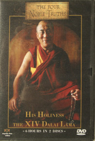 Four Noble Truths, His Holiness the Dalai Lama. DVD. At Tibet Spirit Store.