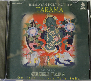 Himalaya Holy Mother. Tarama. Green Tara.