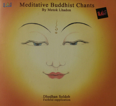 Meditative Buddhist Chants. CD. Metok Lhadon. Tibet Spirit Store