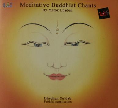 Meditative Buddhist Chants. CD. Metok Lhadon. Tibet Spirit Store