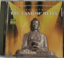 The Land Of Bless. Melodious Chants. CD. Tibet Spirit Store.