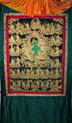 21 Taras, Tibetan Thangka Hanging Scroll