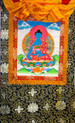 Medicine Buddha Thangka  Hanging Scroll. Tibet Spirit Store