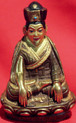 The Third Karmapa, Rangjung Dorjee Statue. Bronze and Gold. Tibet Spirit Store.