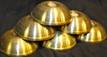 Tibetan Water Offering Brass  Bowls, Set of Seven