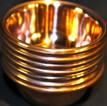 Tibetan Water Offering Copper  Bowls, Set of Seven