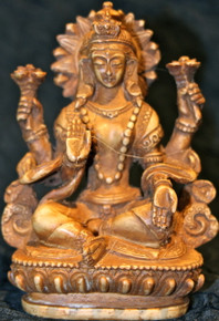 Lakshmi Statue At Tibet Spirit Store.
