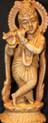Hare Krishna Resin Statue At Tibet Spirit Store.