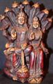 White Tara Buddhist Goddess of Compassion and Longevity Statue. Tibet Spirit.