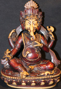 Ganesh Statue Two Tone Colored At Tibet Spirit Store.