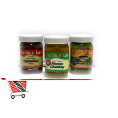 Mudda n Law Condiments Sampler