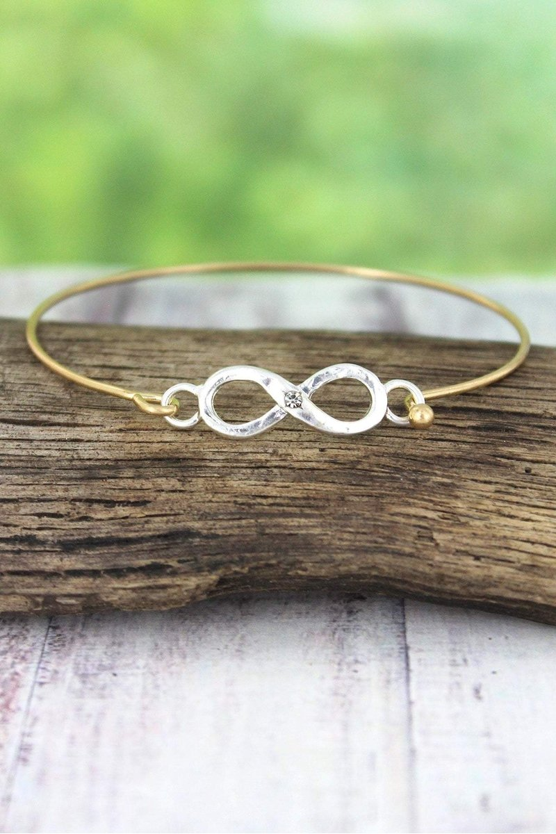 Infinity Bracelet with Stone For Country or Southern Style Gifts