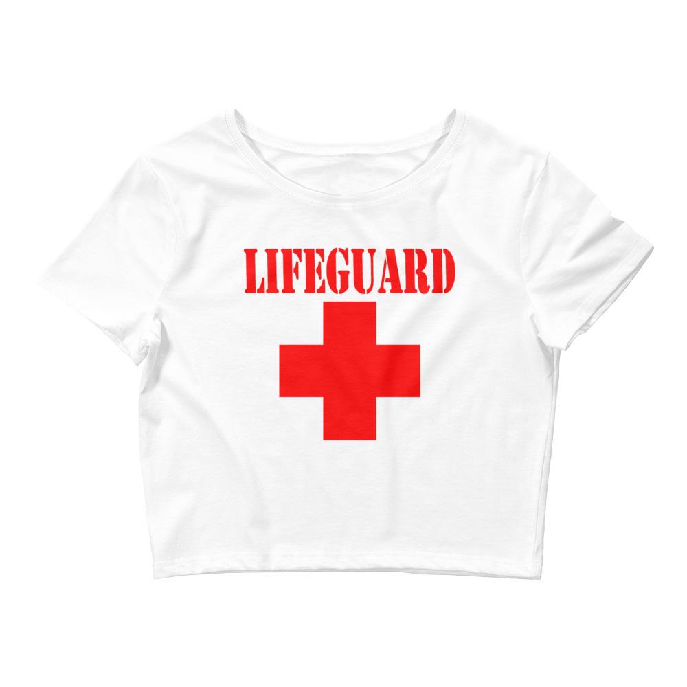 Lifeguard Crop Top Shirt