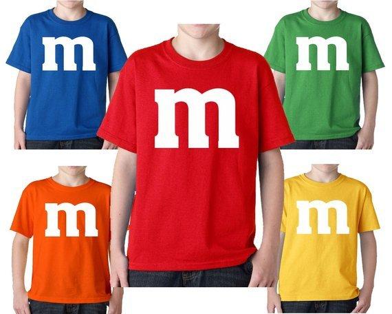 kids M&M Shirts