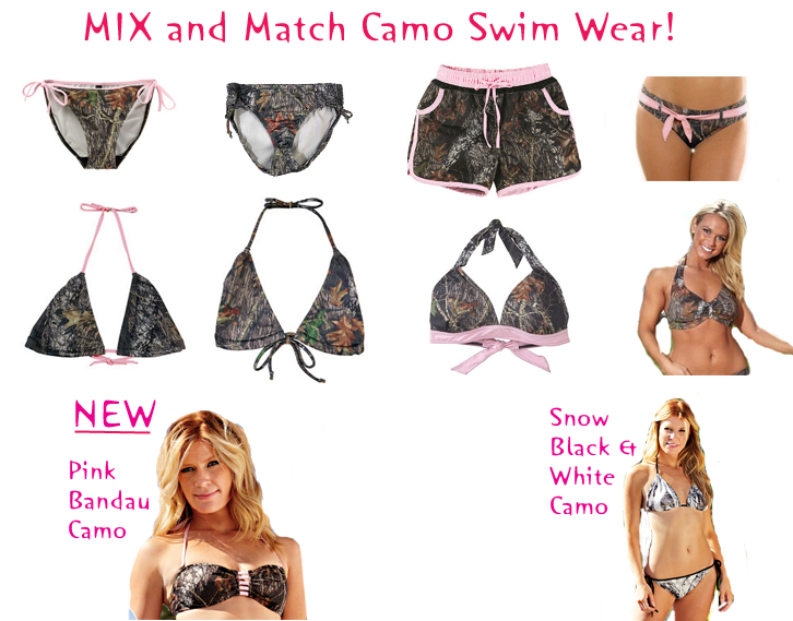 258d8a720d Camouflage Swimsuits - Mix and Match - Southern Sisters Designs