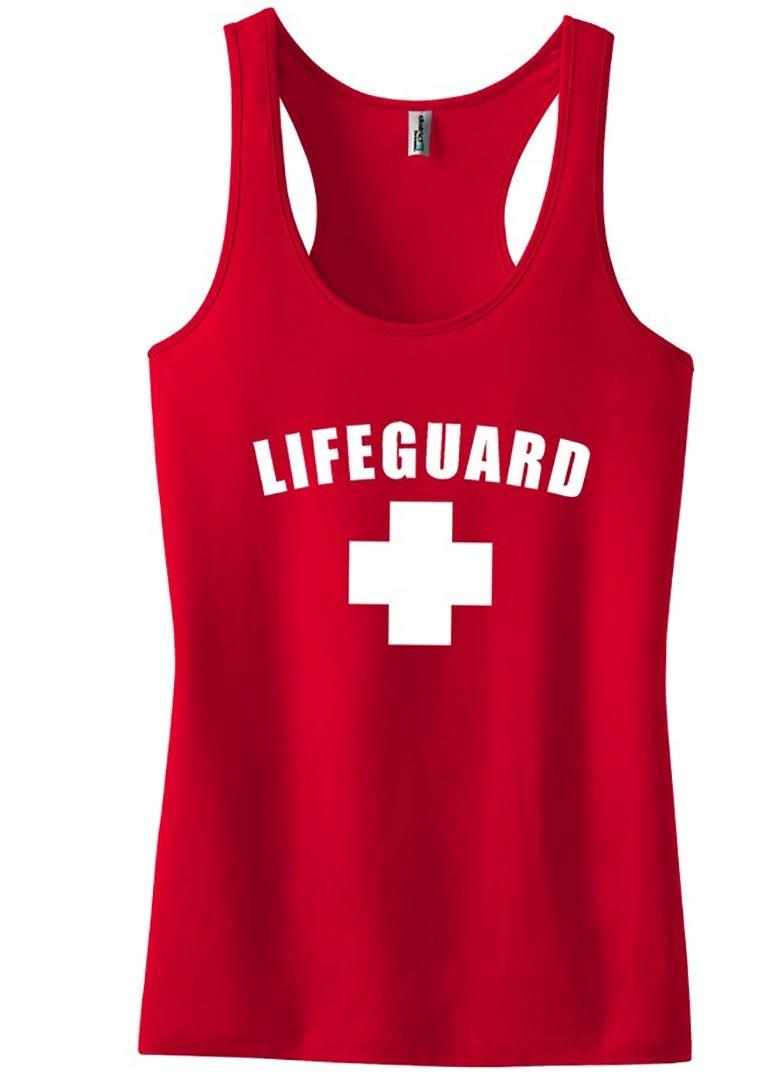 Lifeguard Tank Top Women's