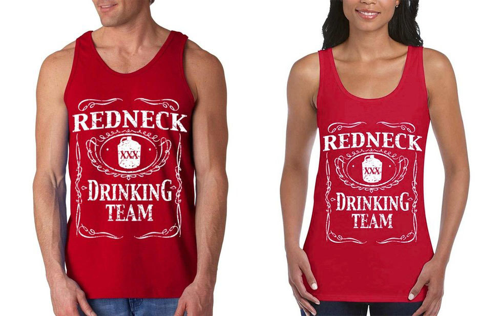 https://www.southernsistersdesigns.com/redneck-drinking-team-mens-tank/