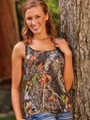 Ladies Hunting Pattern Mossy Oak Tank Top in Camo by Wilderness Dreams