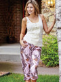 Womens Pink Camouflage Capri Pants by Mossy Oak for the country girl in you