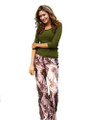 Ladies Pink Camo Pants Soft Lounge or Pajamas