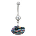 Love Them Gators Belly Button Ring made out of surgical steel
