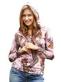 Pink Camouflage Hoodies by Mossy Oak For Women at super low price and free shipping