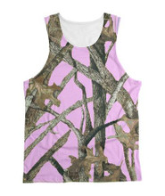 Best Selling Pink Camo tank top