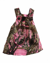 Pink Camouflage Baby Dress By Huntress - Best Selling and The Perfect Gift For Showers and New Borns