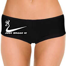 Just Shoot It Women Clothing Panties