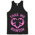 Women's Hunting Tank Top Tame Me Huntin