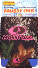 Mossy Oak Pink Logo Camo Can Coozie