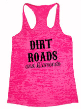 Country Girl Tank Top with Dirt Roads and Diamons