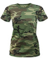 Woodland Army Camouflage Women's Shirt
