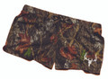 White Deer Skull Mossy Oak Soft Shorts