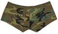 Booty Camp Sexy Camo Boy Short Panties for Women