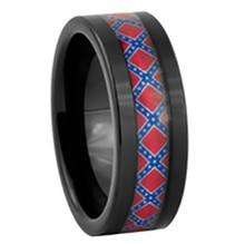 Men's Rebel Flag Ring