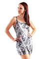 Naked North Snow Women's Camo Tank Top (Shown with Naked North Snow Women's Lounge Shorts--SOLD SEPARATELY)
