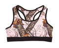 Mossy Oak Pink Break Up Camo Sports Bra