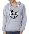 Buck and Doe Love Oxford Hoodie for Women