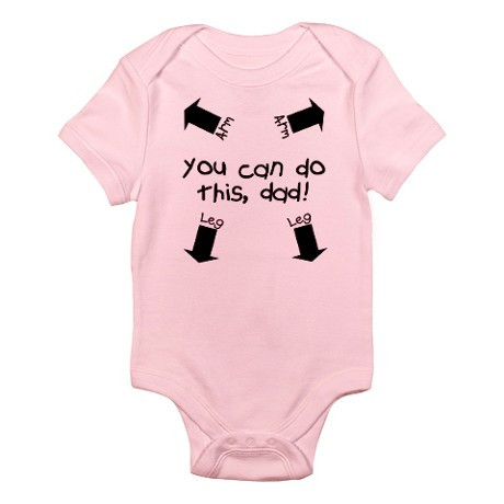 You Can Do This Dad Baby Romper Southern Sisters Designs