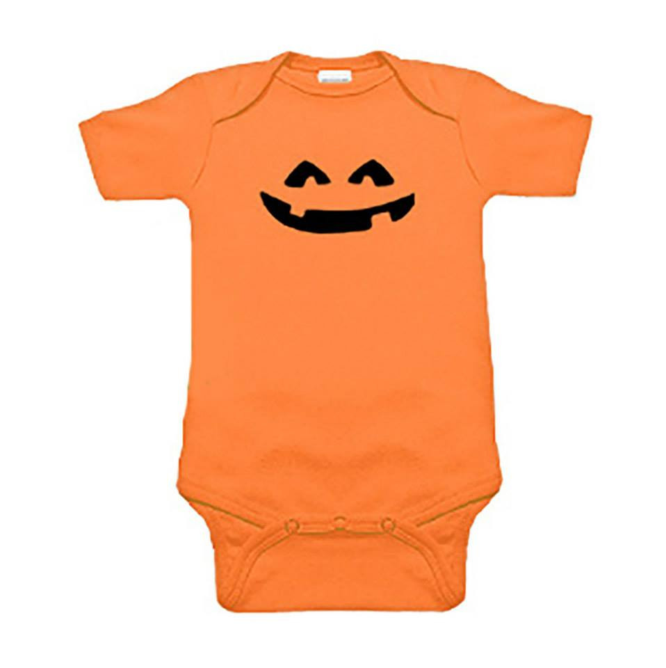 98f8876b2 Cute Baby Pumpkin Onesie - Newborn - 24M. Loading zoom