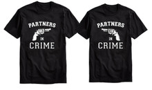Partners in Crime T Shirts