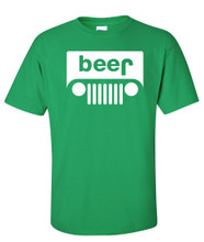 Gren Beer T Shirt is Great For St Paticks Day for women and men super funny and looks like a jeep grill