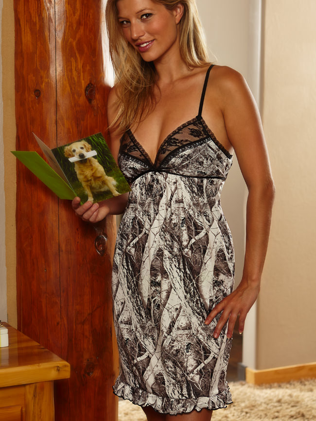 1a275c29d2 Mossy Oak Chemise Night Gown Pajamas