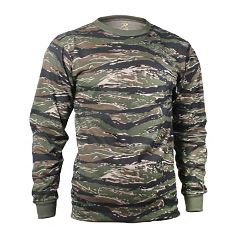 85ee47d3fb64 Camo Long Sleeve Shirts. Loading zoom. Tiger Camo. Pink. Woodlands Camo.  Urban Camo. Smokey Branch. Blue Camo. See 5 more pictures