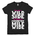 Wild Side Country Music T Shirt By Southern Designs